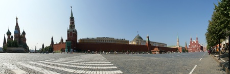 Panorama of Red Square on a summer day, Moscow, Russia Stock Photo - 11413966