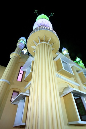 Muslim (Arab) Mosque, Kovalam, Kerala, South India photo