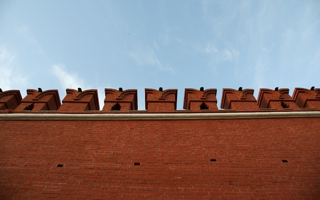 Detail of the Kremlin wall, Moscow, Russia Stock Photo - 11330486