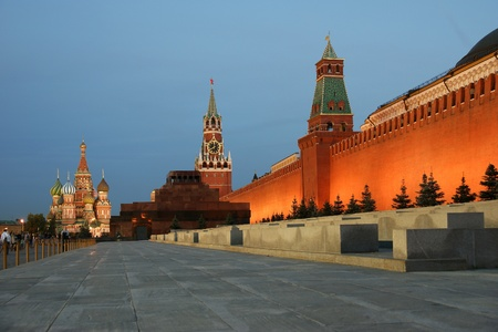 Red Square at night, Moscow, Russia Stock Photo - 11320051