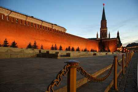 Red Square at night, Moscow, Russia Stock Photo - 11330494