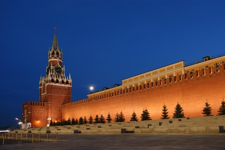 Red Square at night, Moscow, Russia Stock Photo - 11320034