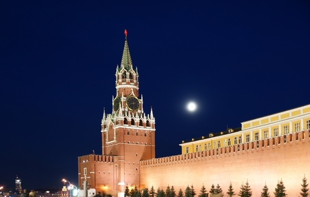 Red Square at night, Moscow, Russia Stock Photo - 11336084