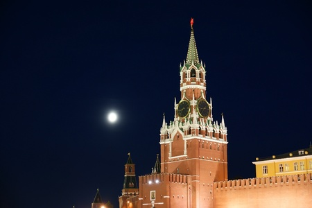 Red Square at night, Moscow, Russia Stock Photo - 11330376