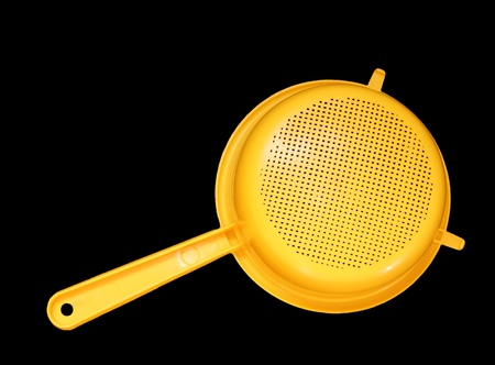Plastic Colander, isolated Stock Photo - 11330215