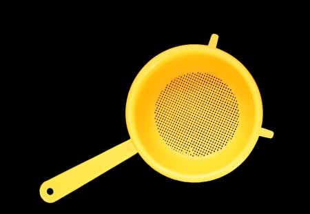 a colander: Plastic Colander, isolated