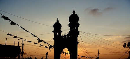 kovalam: Muslim (Arab) Mosque, Kovalam, Kerala, South India