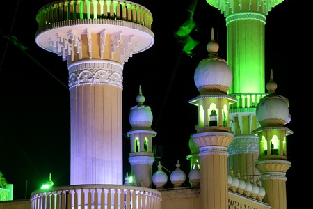 travel features: Muslim (Arab) Mosque, Kovalam, Kerala, South India
