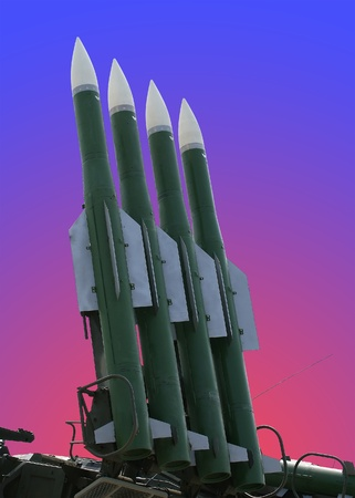 Modern military launched intermediate-range missiles, Russia Stock Photo - 11319811