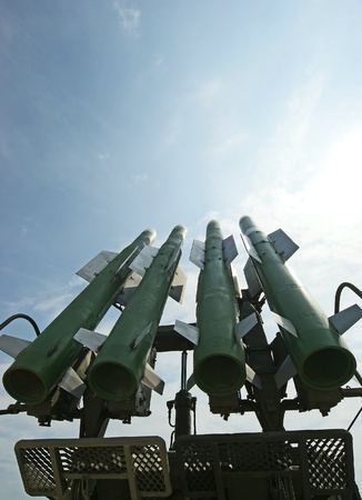 Modern military launched intermediate-range missiles, Russia Stock Photo - 11319824