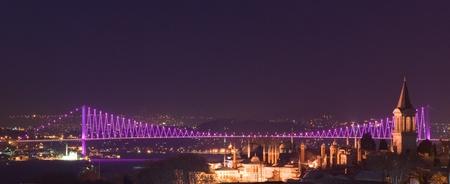 Bosporus bridges, Istanbul, Turkey photo