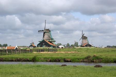 zaanse: Folklore dorp Zaanse sjans, Holland (Nederland)