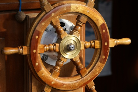 wheelhouse: Wheelhouse (flying bridge, Bridge of a ship) - a special room in the ships superstructure, from where the ship on the move
