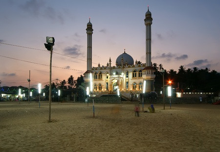 Muslim (Arab) Mosque, Kovalam, Kerala, South India Stock Photo - 11320110