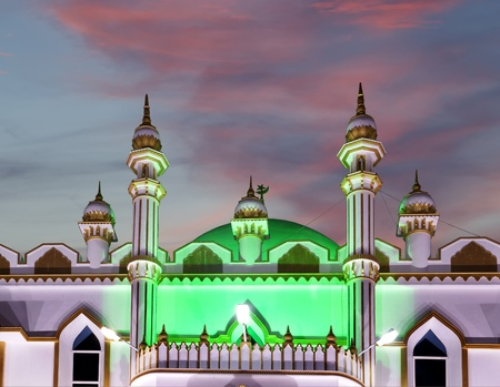 Muslim (Arab) Mosque, Kovalam, Kerala, South India Stock Photo - 11320108