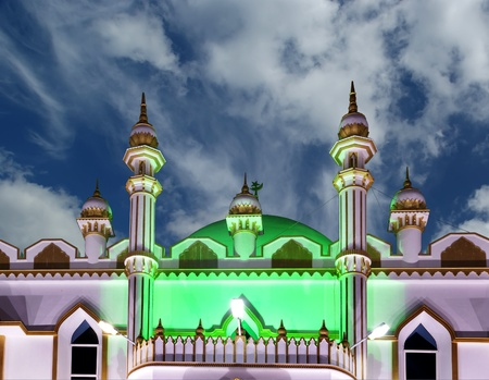 Muslim (Arab) Mosque, Kovalam, Kerala, South India Stock Photo - 11320148
