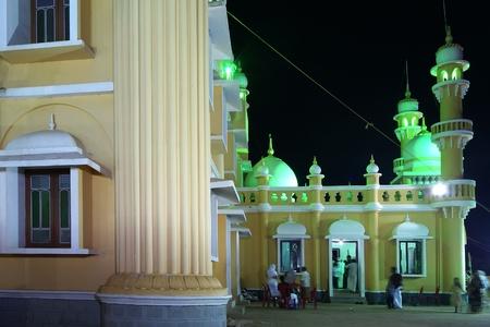 Muslim (Arab) Mosque, Kovalam, Kerala, South India Stock Photo - 11320139