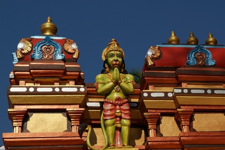 goddesses: Traditional statues of gods and goddesses in the Hindu temple, south India, Kerala