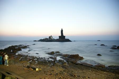 tamilnadu: southernmost point of India. Comorin or Kanyakumari, Tamilnadu, India.