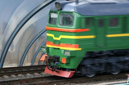 hi speed: hi speed passenger train locomotive