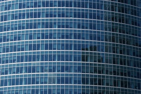 Window glass facade office building photo