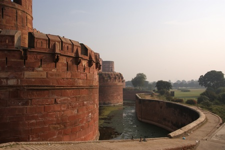 India, Agra, Red fort.  photo