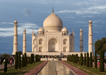 mumtaz: The Taj Mahal  is a mausoleum located in Agra, India, built by Mughal Emperor Shah Jahan in memory of his favorite wife, Mumtaz Mahal