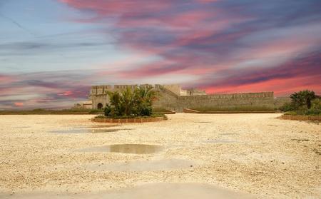 Castle Syracuse. Sicily, Italy. Frederick II Castle (Maniace Castle)