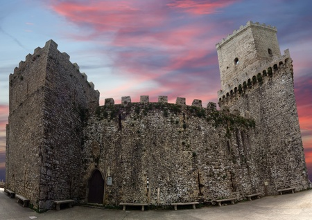 Venus Castle at Erice, Sicily, Italy photo