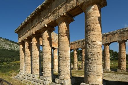 segesta: Classic Greek (Doric) Temple at Segesta in Sicily