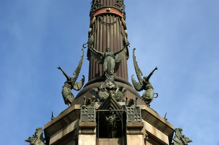 Chistopher Columbus monument in Barcelona, Spain Stock Photo - 12994186