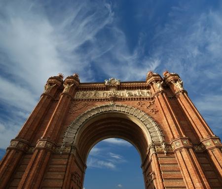 Arc de Triomf, Barcelona, Spain Stock Photo - 13005197