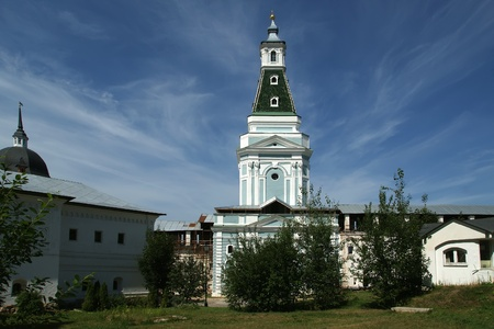 Trinity Sergius Lavra in Sergiev Posad. Russian Federation.  photo