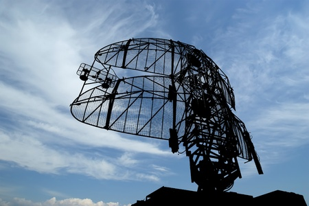 Modern radar is designed  and automatic tracking of targets and missiles Standard-Bild