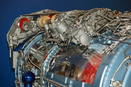 Large jet engine detail viewed from below  other views available   Stock Photo - 13182731