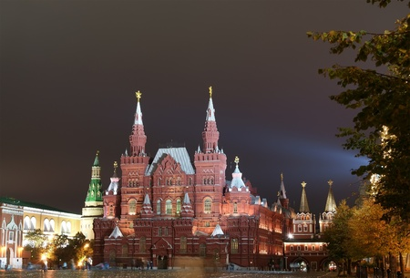 night Red square. Moscow, Russia