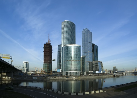 Skyscrapers of the International Business Center (City), Moscow, Russia Stock Photo - 13182710