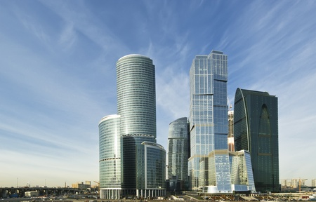 Skyscrapers of the International Business Center (City), Moscow, Russia Stock Photo - 13190905