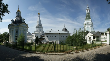 Trinity Sergius Lavra in Sergiev Posad. Russian Federation. Panorama. photo