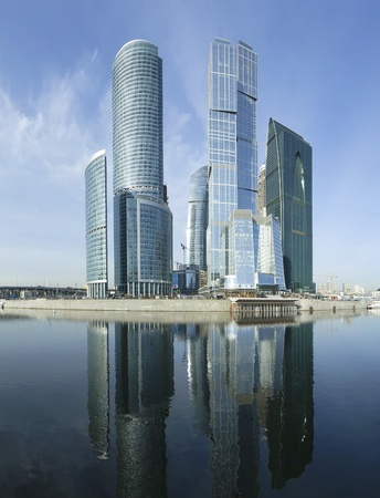 Panorama of the international business centre  City , Moscow, Russia Stock Photo - 13260654