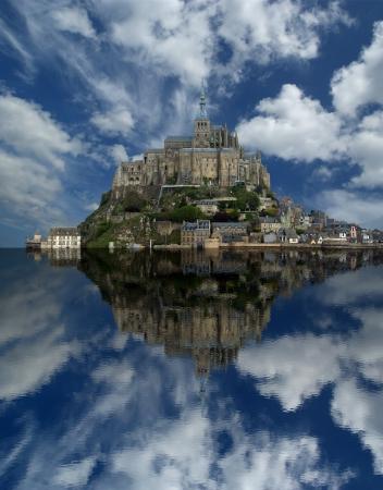 Mont Saint-Michel, Normandy, France Stock Photo - 15570540