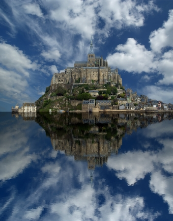 Mont Saint-Michel, Normandy, France Stock Photo - 15570540