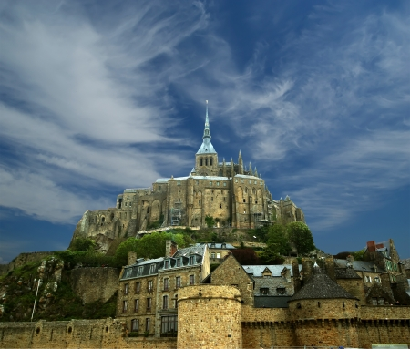 st michel: Mont Saint-Michel, Normandy, France--one of the most visited tourist sites in France