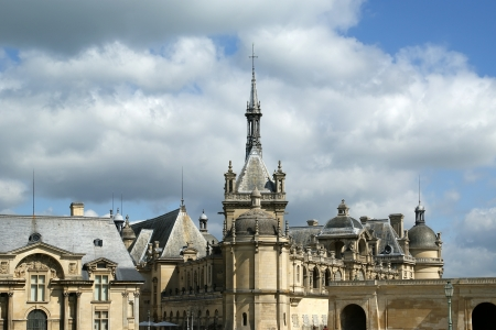 chantilly: Chateau de Chantilly ( Chantilly Castle ), Oise, Picardie, France