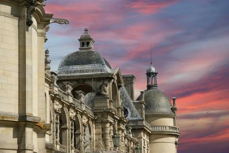 chantilly: Chateau de Chantilly ( Chantilly Castle ), Oise, Picardie, France