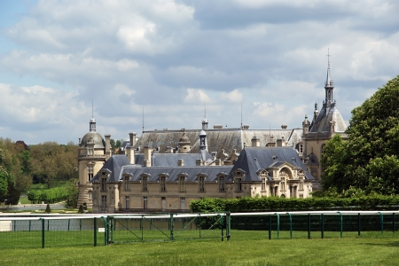 chantilly: Chateau de Chantilly   Chantilly Castle  , Oise, Picardie, France