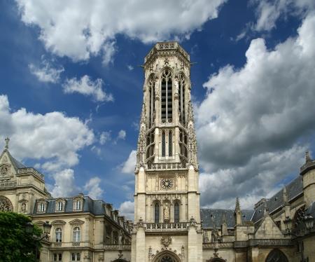 The Church of Saint-Germain-l Auxerrois, Paris, France Stock Photo - 15591820