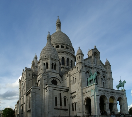 Basilica of the Sacred Heart of Paris, commonly known as Basilica, Paris, France