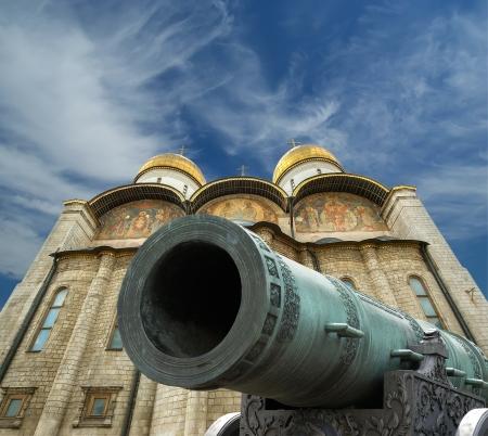 The Tsar Cannon, Moscow Kremlin, russia Stock Photo - 15874247
