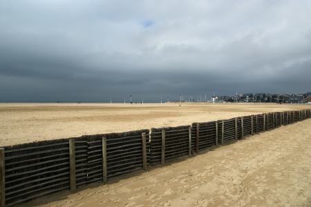 Deauville Beach, Normandy, France, Europe Imagens